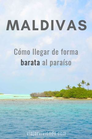 como llegar a maldivas barato