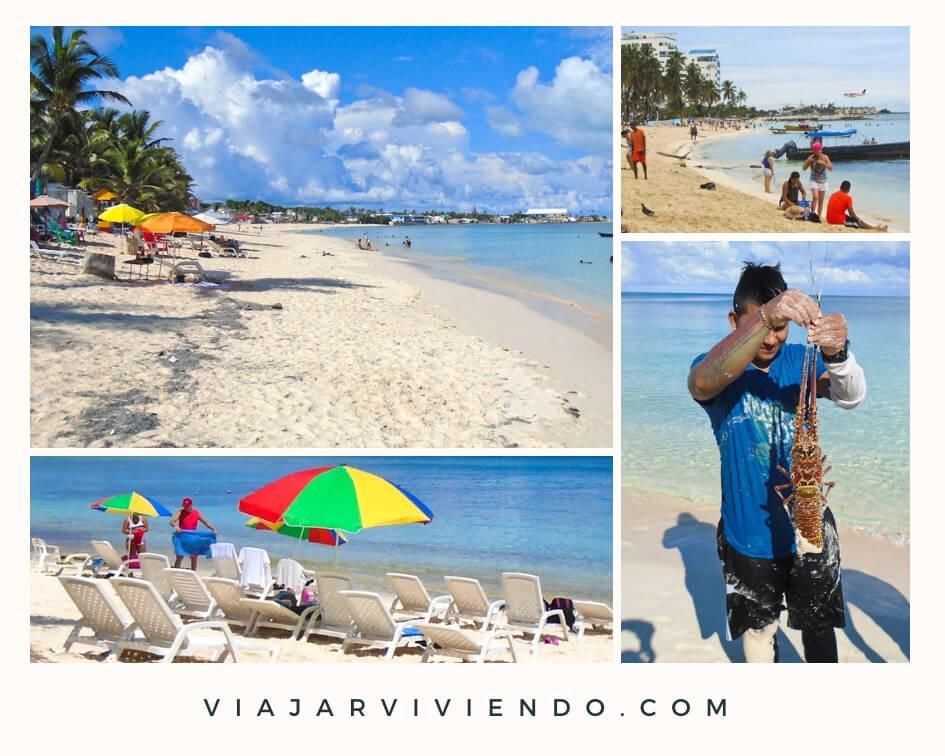 playas de San Andres