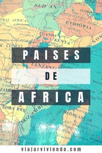 Paises y Capitales de Africa