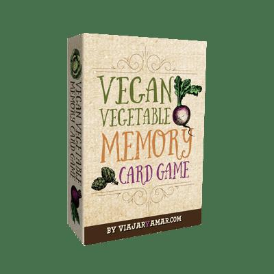 Vegan Vegetable Memory Game