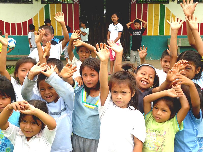 Voluntariado en el amazonas