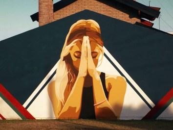 Regala arte, mural en Córdoba, Argentina