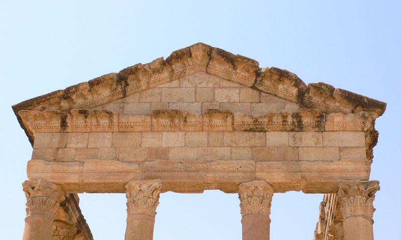 Ruinas de Sbeitla, Túnez