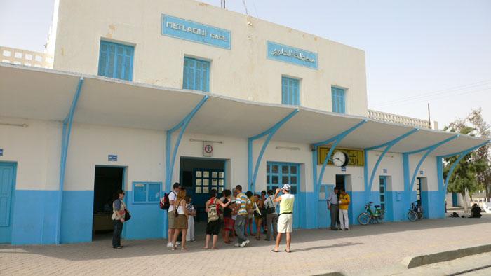 Estación de tren de Metlaoui