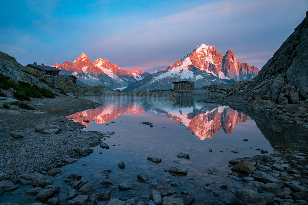 Lago Blanco Chamonix