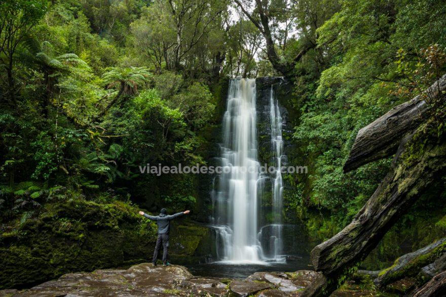 McLean Falls, The Catllins, Nueva Zelanda