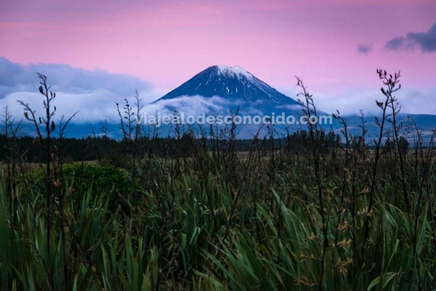 Mount Ngauruhoe Nueva Zelanda