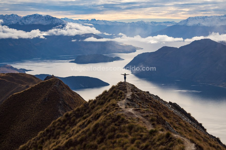 Roys Peak Track, Wanaka - Nueva Zelanda