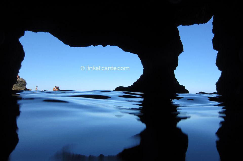 La Cova Tallada, Xàbia, Alicante