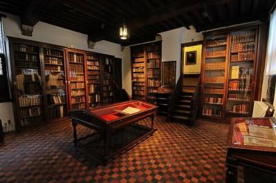 Biblioteca de casa Plantin-Moretus