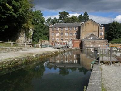 Exterior de Cromford Mill