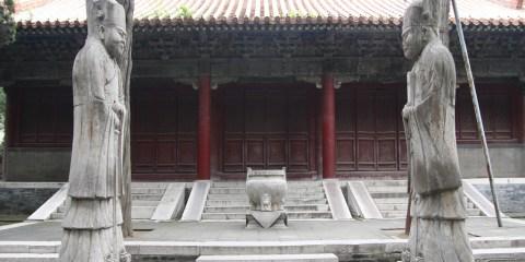 Templo y cementerio de Confucio y residencia de la familia Kong en Qufu