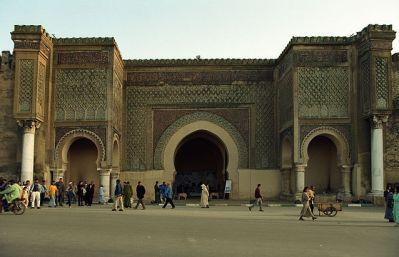 Puerta de Bab Al Mansour