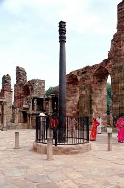El enigmático Pilar de Hierro en Qutb Minar