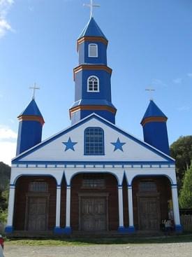 Iglesia de Tenaun en Chiloé