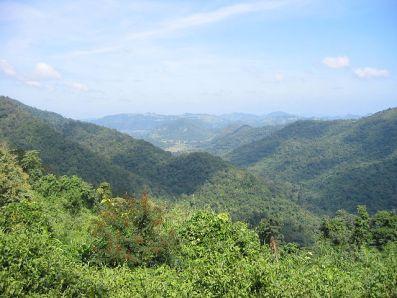 Vista del Parque Nacional Dong Phaya Yen