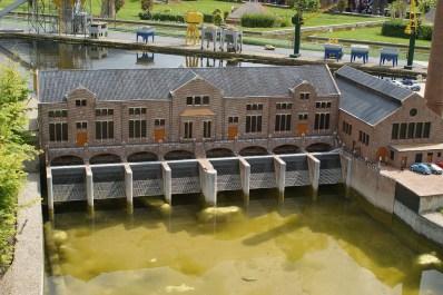 Vista exterior del la estación de bombeo Woudagemaal
