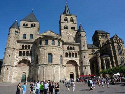Catedral románica de Tréveris, la más antigua del país