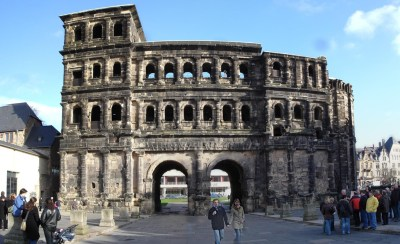 Porta Nigra, principal monumento romano de Tréveris
