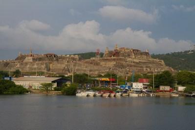 Castillo San Felipe de Barajas, principal fortaleza de Cartagena