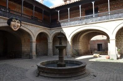 Casa de la Moneda en el centro de Potosí