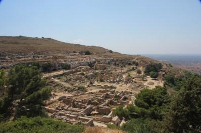 Vista general de la ciudad de Cirene