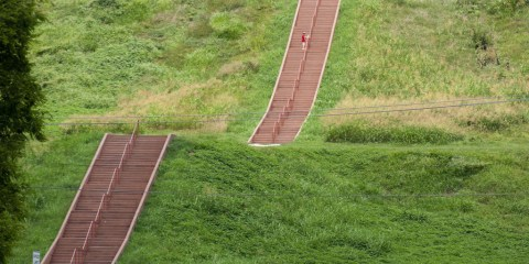 Sitio histórico estatal de Cahokia Mounds