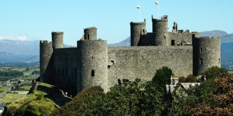 Castillos y murallas del rey Eduardo en Gwynedd