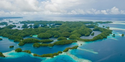 Laguna meridional de las Islas Rocosas
