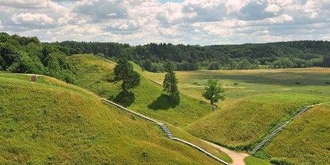 Sitio arqueológico de Kernavė (Reserva cultural de Kernavė)