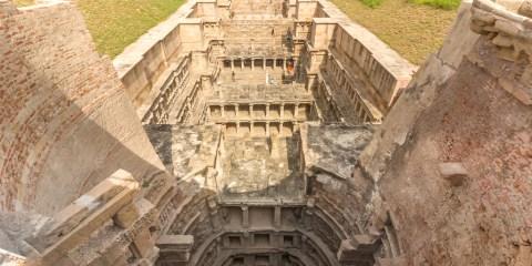 Rani-ki-Vav (el pozo de la reina) en Patan