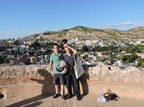Previa a la entrada de Los Nazaríes. Vista panorámica de La Alhambra