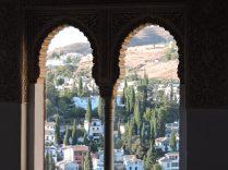 Vista de La Alhambra desde Palacio de Los Nazaríes