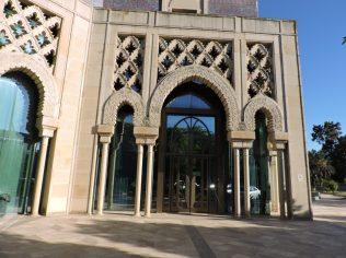Entrada al Pabellón de Marruecos.