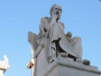 Escultura de Platón