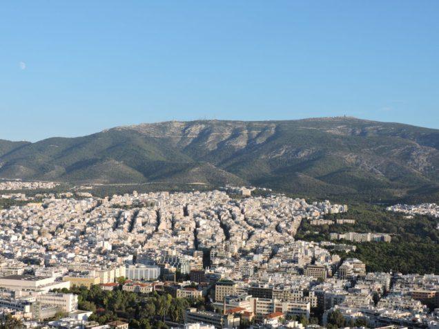 Vista de Atentas desde Monte Licabeto