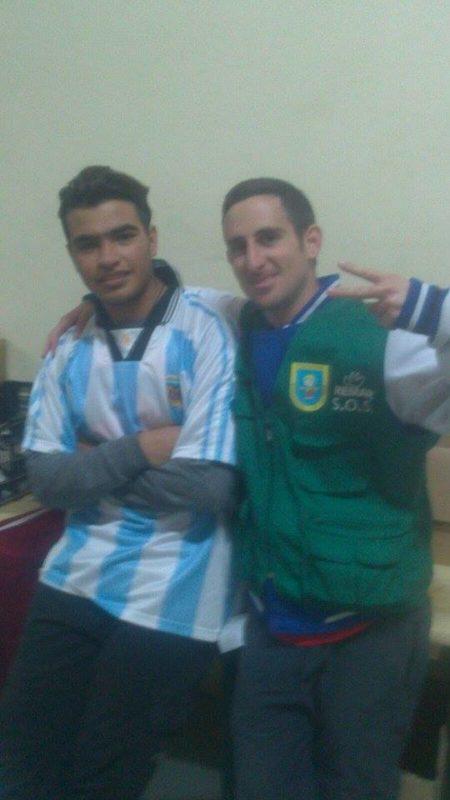 Omid, argentino por un día