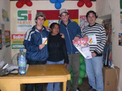 Comite del SI, referendum para la reforma constitucional de Bolivia en 2009