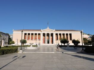Recorriendo Atenas primera vez