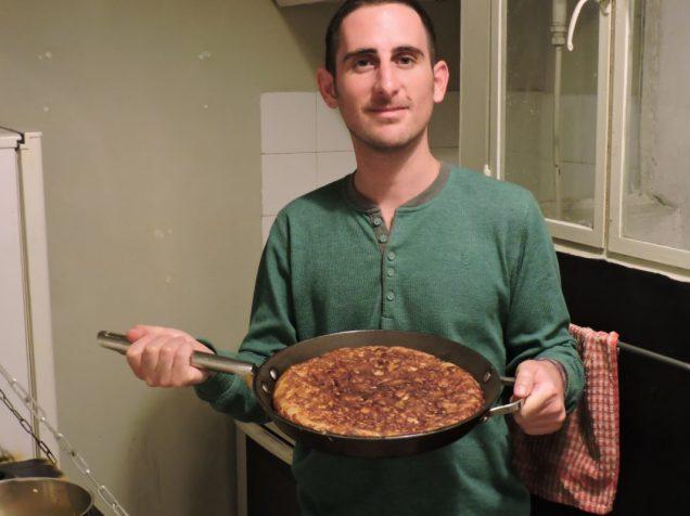 Tortilla española a la Martin