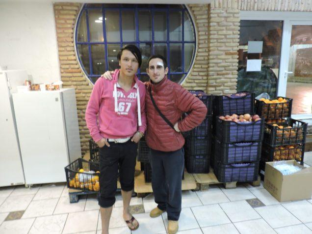 Con Farzan de Afganistán