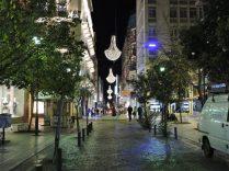 Atenas de noche