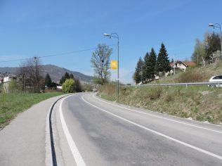 Caminando al peaje de Sarajevo