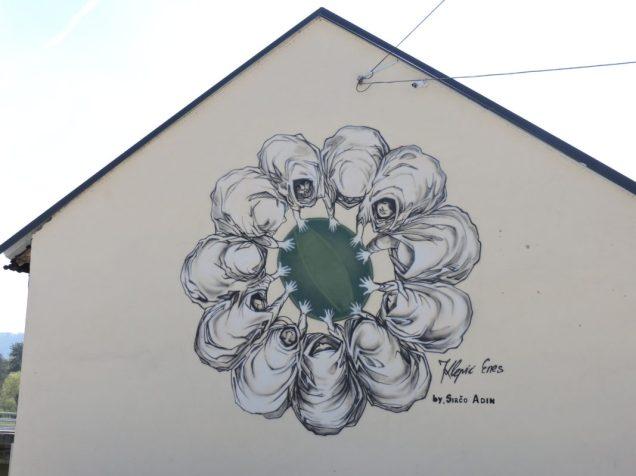 Grafiti en Visoko