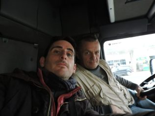 Con Zoran en Timisoara