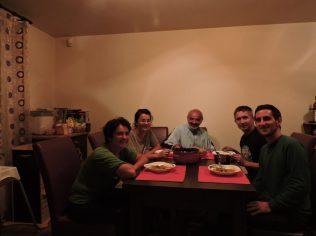 Linda última noche en Hunedoara, Rumania