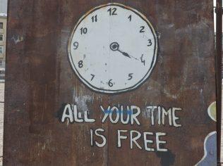 El tiempo ya no es dinero