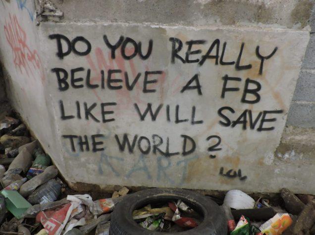 ¿Facebook salvará al mundo?