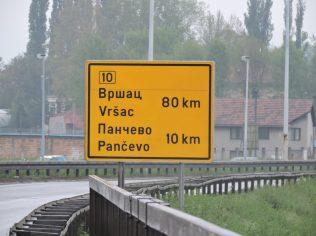 Saliendo de Belgrado