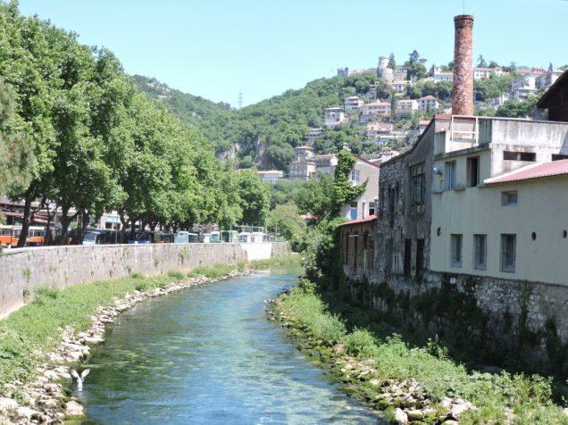 Camino al Castillo, una buena vista